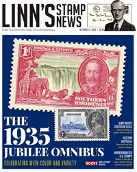 Linn's Stamp Monthly | 10/2019 Cover