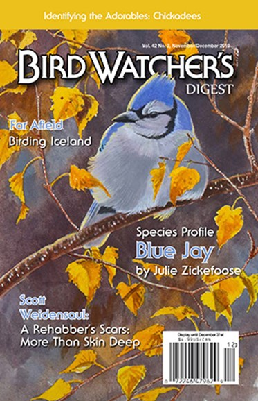 Bird Watcher's Digest Cover - 11/1/2019