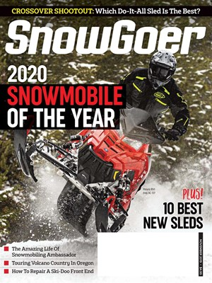 Snow Goer Magazine | 11/2019 Cover
