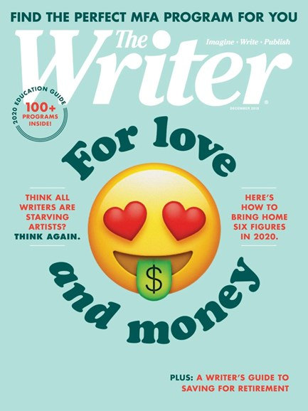 The Writer Cover - 12/1/2019