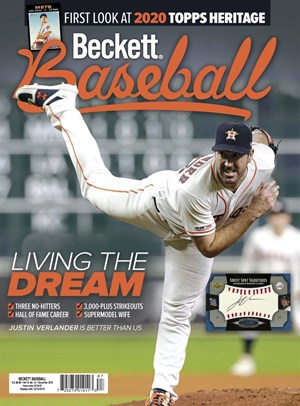 Beckett Baseball Magazine | 12/2019 Cover