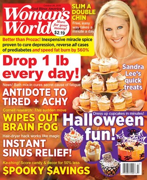 Woman's World Magazine | 10/28/2019 Cover