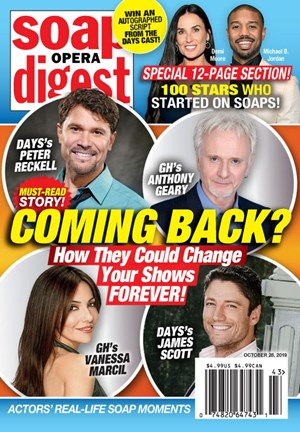 Soap Opera Digest Magazine | 10/28/2019 Cover