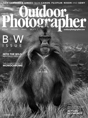 Outdoor Photographer Magazine | 11/2019 Cover