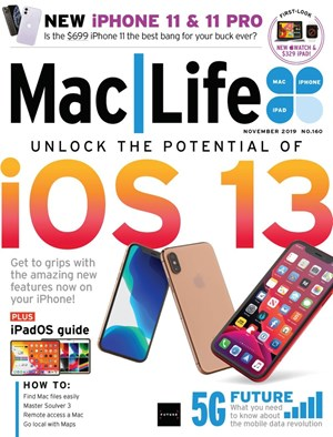 Mac Life (non-disc Version) | 11/1/2019 Cover