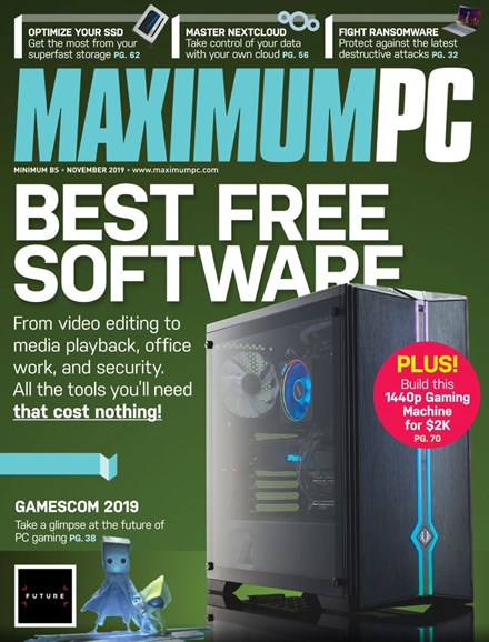 Maximum PC Cover - 11/1/2019