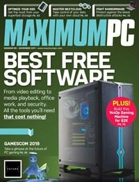 Maximum PC | 11/1/2019 Cover