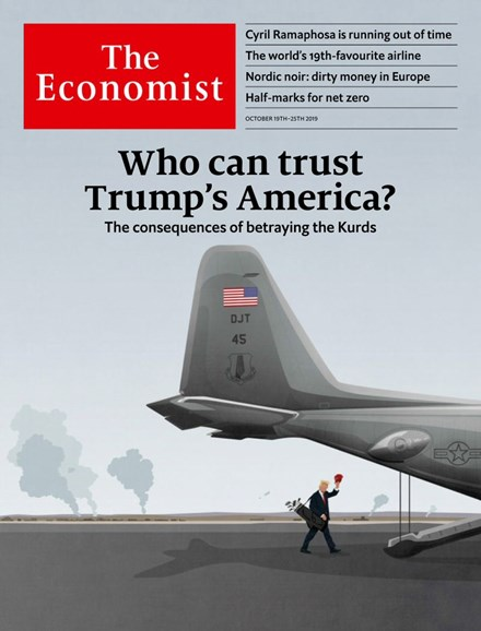 The Economist Cover - 10/19/2019