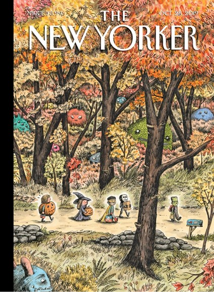 The New Yorker Cover - 10/28/2019