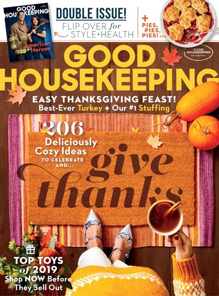 Good Housekeeping Cover - 11/1/2019