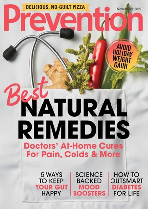 Prevention Magazine   11/2019 Cover