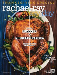 Every Day Rachael Ray Magazine | 11/1/2019 Cover