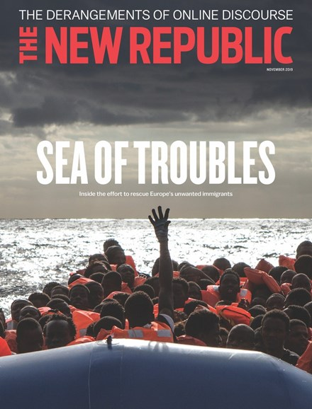 The New Republic Cover - 11/1/2019