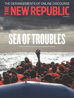 The New Republic Magazine | 11/2019 Cover