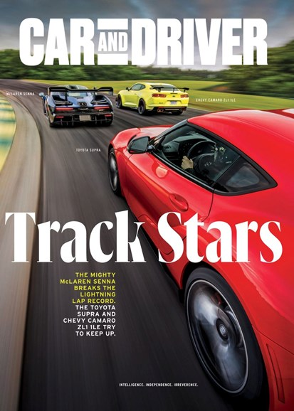 Car And Driver Cover - 11/1/2019