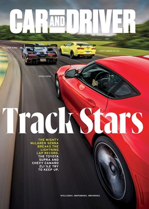 Car And Driver Magazine | 11/2019 Cover
