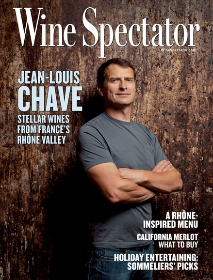 Wine Spectator Cover - 11/30/2019