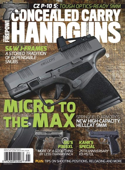 Concealed Carry Handguns Cover - 12/1/2019