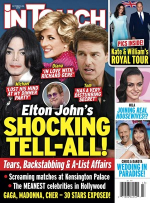 In Touch Magazine   10/28/2019 Cover