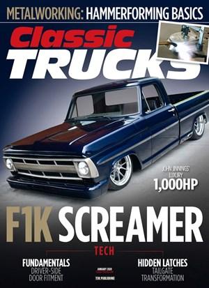 Classic Trucks Magazine   1/2020 Cover