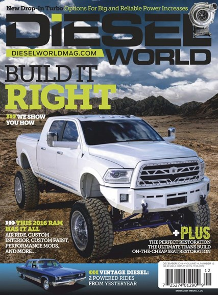 Diesel World Cover - 12/1/2019