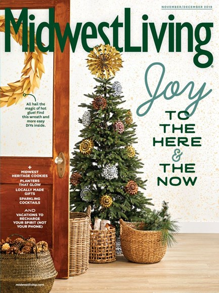 Midwest Living Cover - 11/1/2019