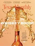 Texas Monthly Magazine 11/1/2019