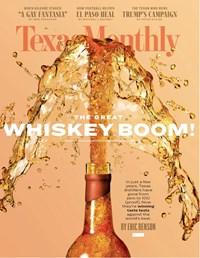 Texas Monthly Magazine | 11/2019 Cover