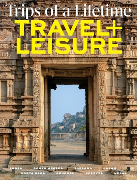Travel + Leisure Cover - 11/1/2019