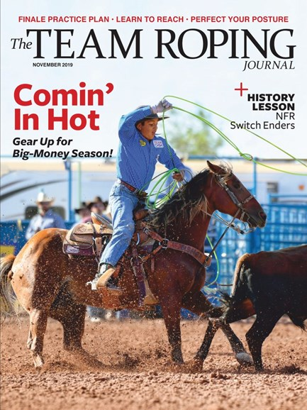 The Team Roping Journal Cover - 11/1/2019