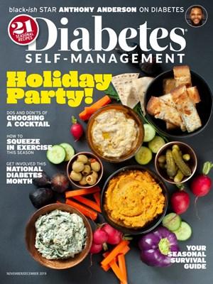 Diabetes Self Management Magazine | 11/2019 Cover