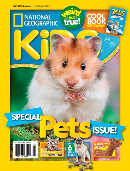 National Geographic Kids Cover - 11/1/2019