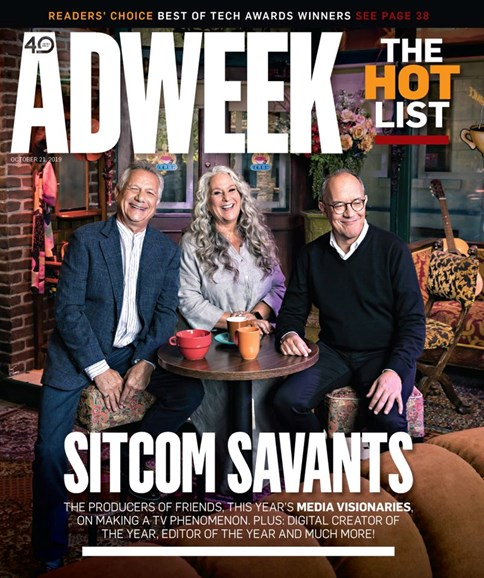 Adweek Cover - 10/21/2019