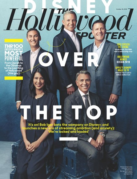 The Hollywood Reporter Cover - 10/16/2019