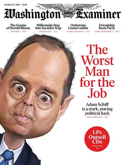 Washington Examiner Cover - 10/22/2019