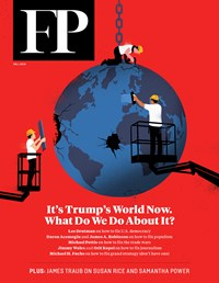 Foreign Policy Magazine | 9/2019 Cover