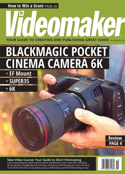 Videomaker Cover - 11/1/2019