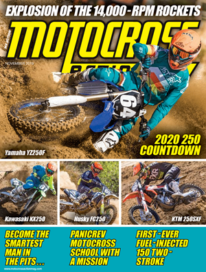 Motocross Action Magazine | 11/2019 Cover