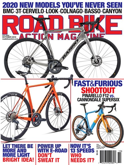 Road Bike Action Cover - 10/1/2019