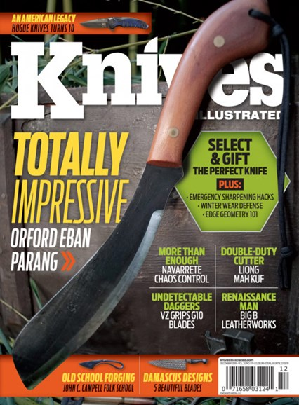 Knives Illustrated Cover - 12/1/2019