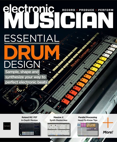 Electronic Musician Cover - 12/1/2019