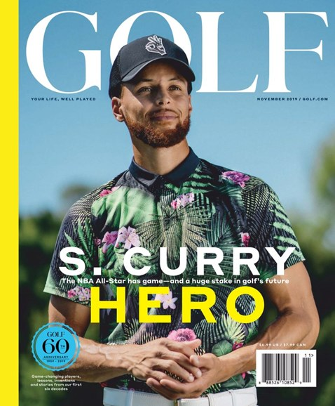 Golf Magazine Cover - 11/1/2019