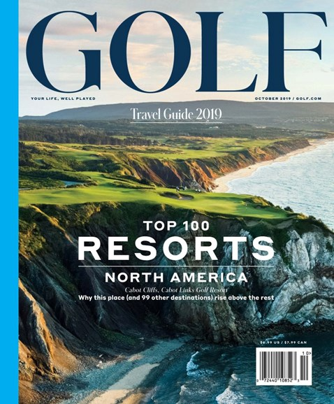 Golf Magazine Cover - 10/1/2019