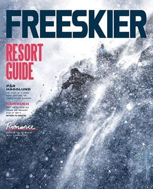 Freeskier Magazine | 11/2019 Cover