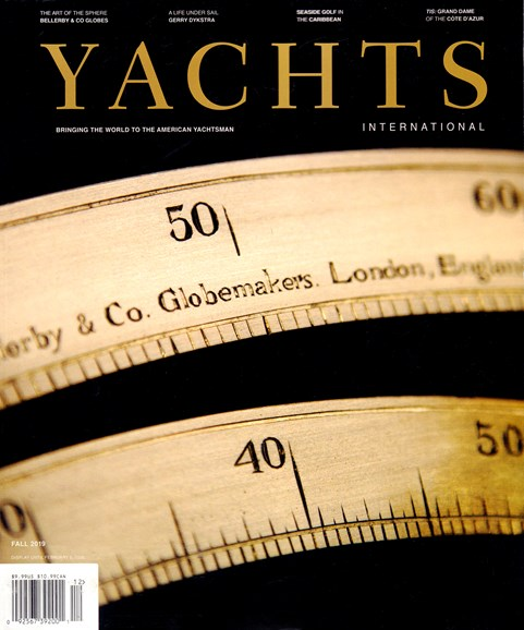 Yachts International Cover - 9/1/2019