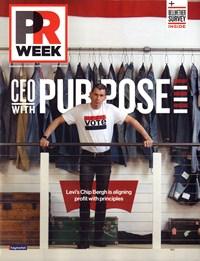 PRWeek Magazine   9/2019 Cover