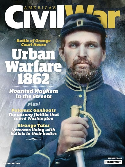 America's Civil War Cover - 1/1/2020