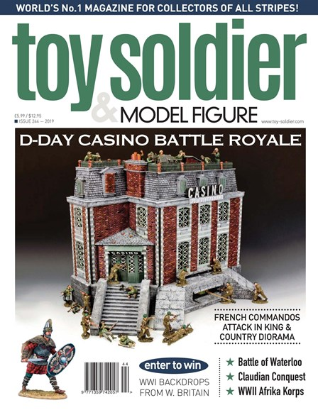 Toy Soldier & Model Figure Cover - 11/1/2019