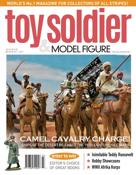 Toy Soldier & Model Figure Cover - 10/1/2019