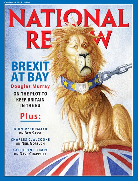 National Review Cover - 10/28/2019
